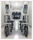 開発中の移動ロボット